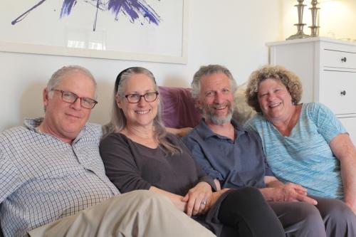 Roni, Galia, Sheryl & I