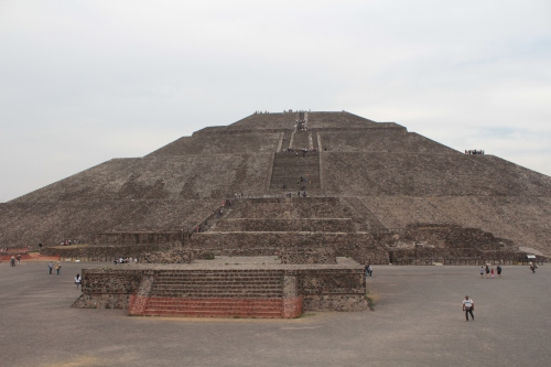Temple of the Sun, Teotihuacan, outside Mexico City